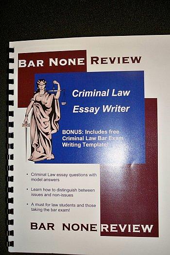 criminal law term papers